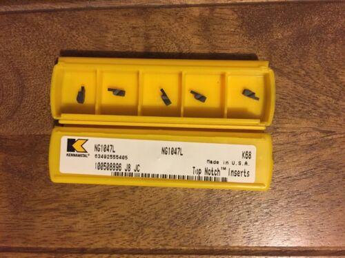 KENNAMETAL NG1047L  K68 Top Notch carbide Inserts