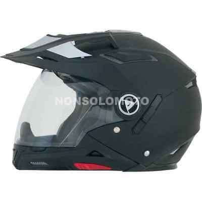 Casco Afx Moto, Cross, Enduro, Quad Fx-55 Solid Color Nero