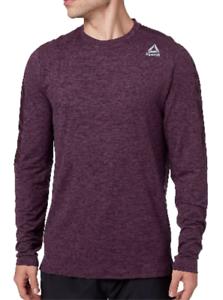 Reebok Men/'s 24//7 Long Sleeve Jersey Crew Shirt Comfortable Soft XL 2XL