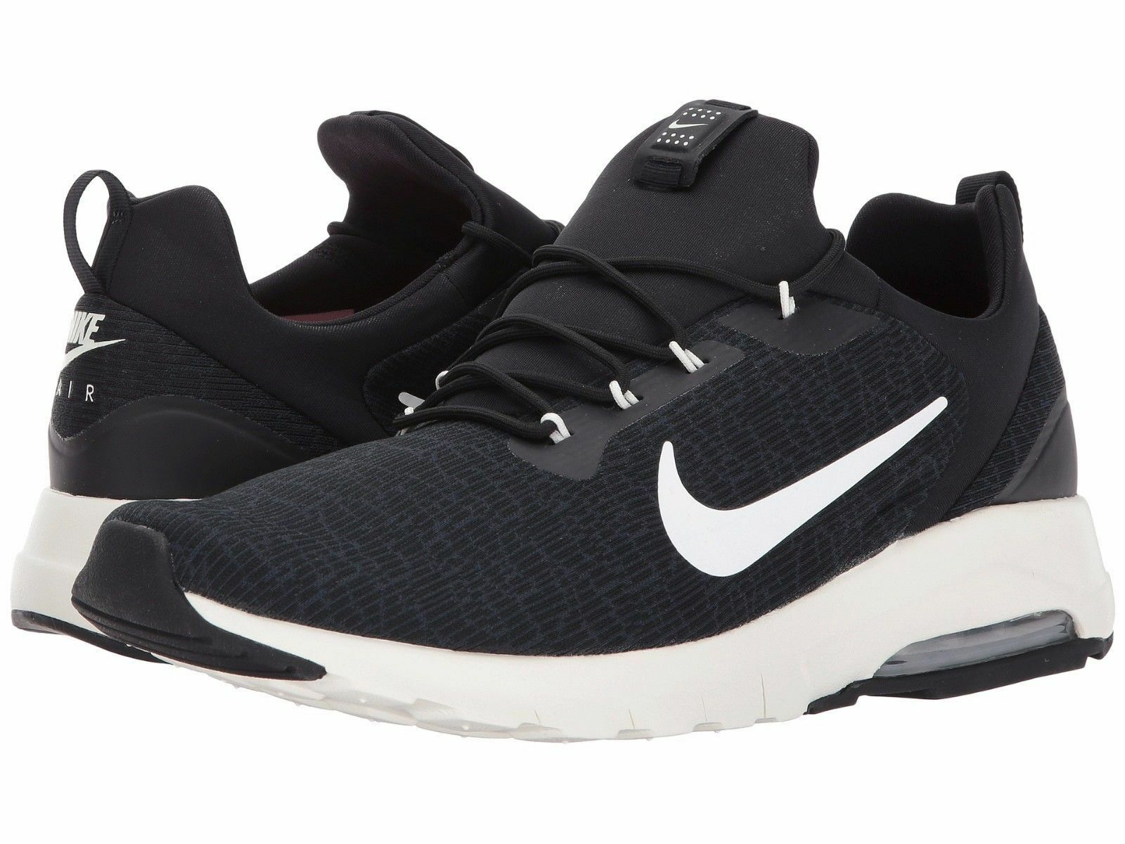 reputable site 831b9 b1684 Men s Nike Air Max Max Max Motion Racer Running Black Sail Sizes 8-12