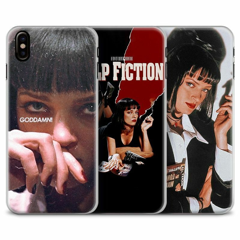 Legendary Movie Pulp Fiction Phone Case 2urman Skin Cover For ...