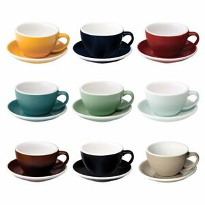 loveramics egg 200ml cappuccino tassen untertasse neue farben ebay. Black Bedroom Furniture Sets. Home Design Ideas