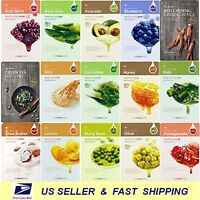[the Face Shop] Real Nature Mask Sheet Moisture Mask Sheet 15pcs 30pcs