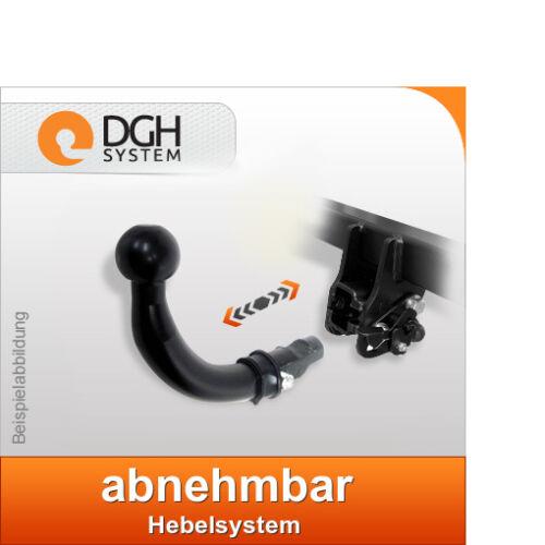 Für Peugeot 407 6D Stufenheck ab08 Anhängerkupplung abnehmbar AHK