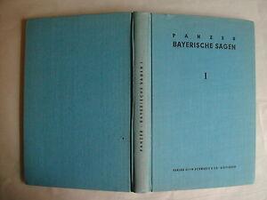 Panzer-Peuckert-Hrsg-BAYERISCHE-SAGEN-UND-BRAUCHE-Teil-I-1954