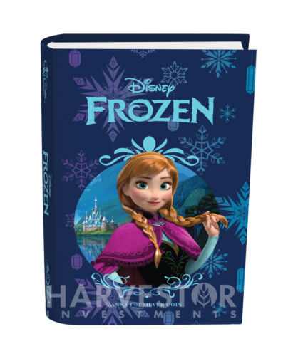 2016 SILVER DISNEY FROZEN SERIES ANNA NGC PF70 FIRST DAY OF ISSUE W//OGP