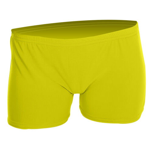Girls Children Neon Lycra Stretchy Hot Pants Shorts Dance Party Fancy Dress UK