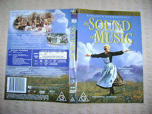 SOUND-OF-MUSIC-THE-Julie-Andrews-Christopher-Plummer-DVD-R4-Free-Postage