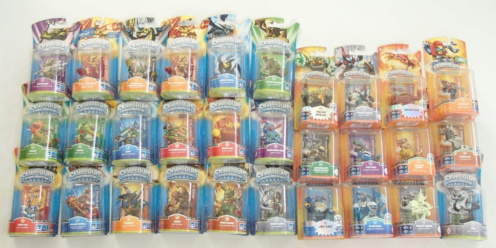 BNIB Skylanders Spyro's Adventures Giants Action Figures WII PS3 XBox 1st Series