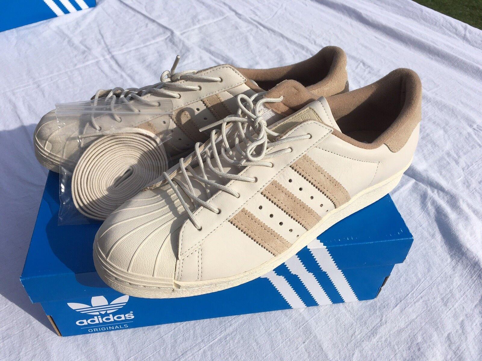 Sneakers, Adidas, str. 46, Grå, Ruskind