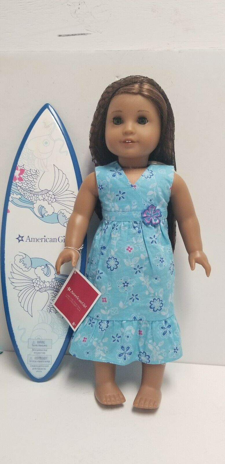 American Girl Kanani 18  Doll with Accessories and Box