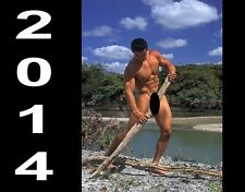 """2014 Awesome Images """" Man in Nature"""" oversize wall calendar"""
