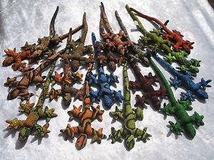Gecko Lézard Animal De Sable Jouet Presse-papier - * Choisissez Design & Couleur * 23cm X 8 Cm-afficher Le Titre D'origine