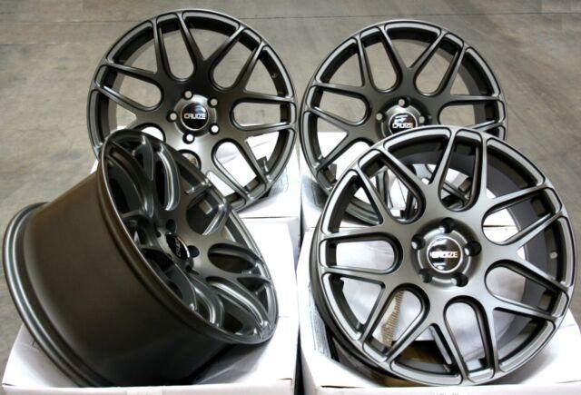 """18"""" Llantas de Aleación Cruize Cr1 GM Compatible con VW T5 T6 T28 T30 T32"""