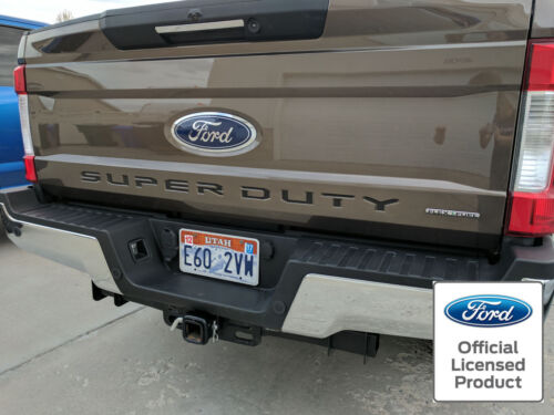 2017 FORD SUPER DUTY TAILGATE LETTERS INSERTS VINYL STICKERS DECALS F250 F350