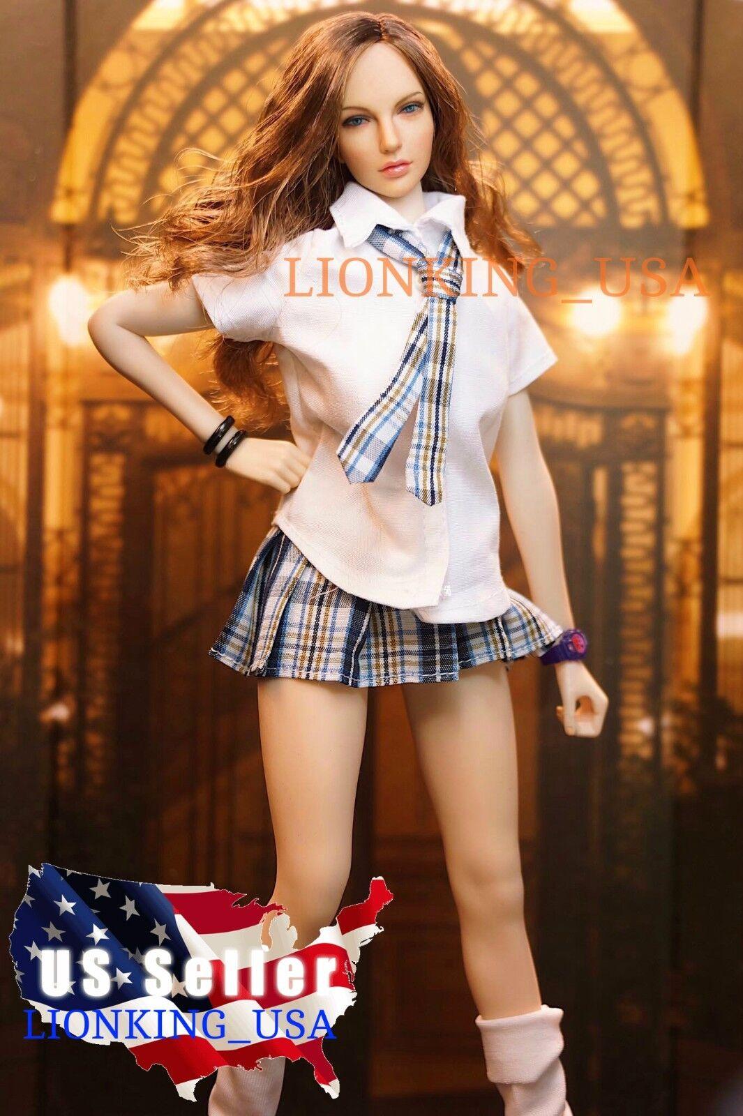 1 6 Sexy Juego De Muñeca American Beauty PHICEN Super flexible sin costuras figura ❶ USA ❶