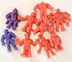 CHOOSE-Vintage-1980s-M-U-S-C-L-E-MEN-Action-Figures-Muscle-Grape-Salmon
