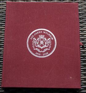 200-JAHRE-MULHEIM-AN-DER-RUHR-Schoene-Sammlung-Medaillen-mit-Silber-10-Stueck