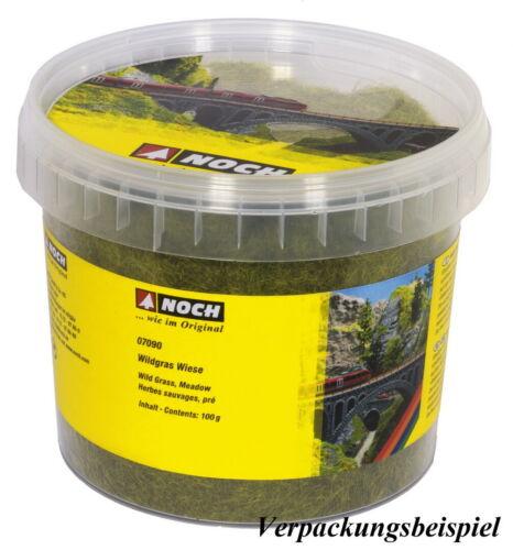 NOCH 07099 Wildgras XL dunkelgrün 12 mm 0//H0