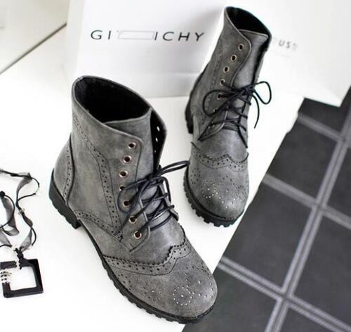 stivali stivaletti scarpe anfibi grigio giallo pelle sintetica comode 8960