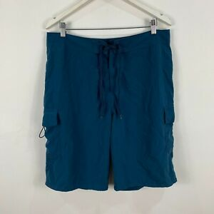 Kathmandu-Mens-Board-Shorts-Medium-W33-34-Blue-Drawstring