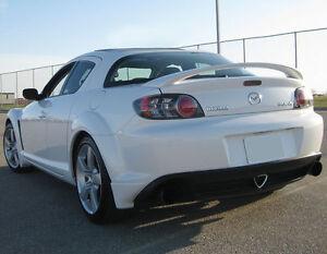 Image Is Loading Fiberglass Rear Spoiler Wing For Mazda RX 8