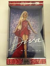 Mattel Red Hot Barbie Doll Diva Collection 2002 African American # 56708 14+