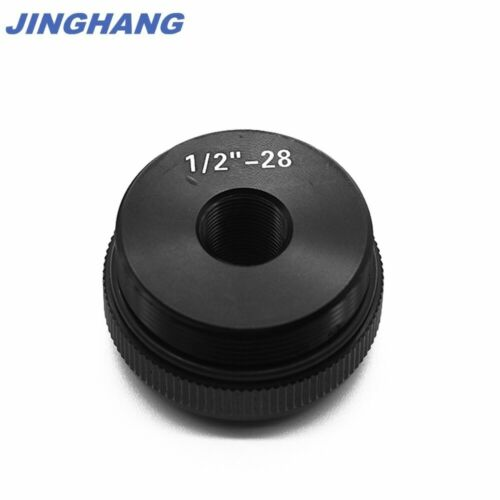 """1//2/""""x28 Maglite C Cell Thread Adapter Tail End Cap Black"""