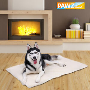 Pet Large Dog Cat Self Heating Bed Mat Soft Warm Cushion Thermal Washable Pad