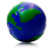 6x Earth Stress Ball (globe reliever ADHD autism toy)