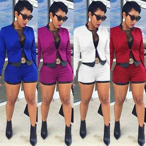 0e2229a09 Women Business Suit 2Piece Set Short Pant Suits Free Shipping gift ...