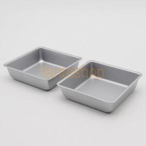 4 Inch Square Toast Bread Tray  Pie Bakeware Bread Cake Mold Baking Tin Nonstick