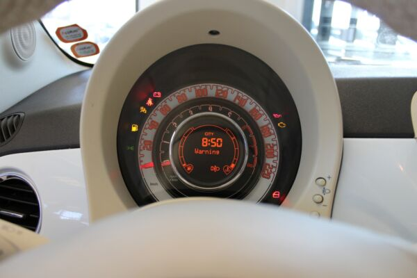 Fiat 500 1,2 Lounge billede 7