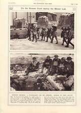 1917 Somme Front Winter Lull Fatigue-party Trenches Officers Dug-out