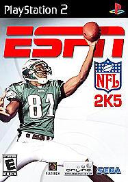 ESPN NFL 2K5 Sony PlayStation 2, 2004 - European Version - $6.90