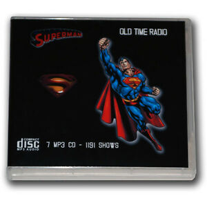Details about SUPERMAN (1939-1950) Old Time Radio - 7 CD -1191 mp3