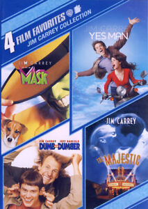 4 FILM FAVORITES: JIM CARREY COLLECTION (THE MASK, YES MAN, DUMB AND DUMBE (DVD)