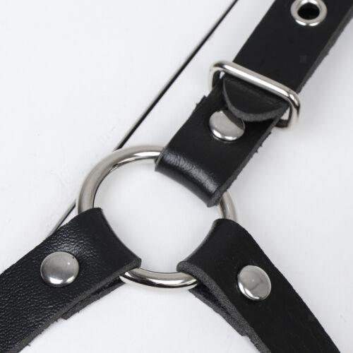 Harness Geschirr Leder Dessous Brust Körperharness Unterwäsche Nachtwäsche