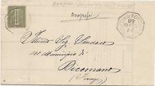 P6882   Firenze, Bandino Bagni a Ripoli, ann. ottagonale 1888