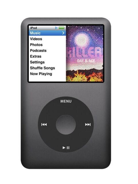 New Apple MC297LL/A iPod Classic MP3/MP4 Player 160GB Black (7th Generation)