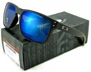 1904909fcf NEW OAKLEY HOLBROOK SUNGLASSES OO9102-52 MATTE BLACK   ICE IRIDIUM ...