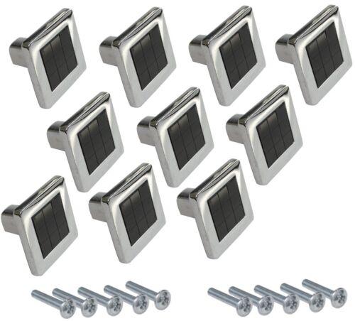 10x poignée de tiroir placard porte meuble armoire Minho chromé//noir 25mm