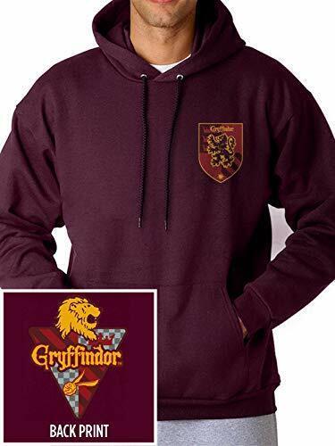 Harry Potter House Gryffindor Unisex Pullover Maroon Hoodie