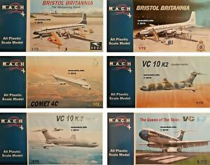 Mach-2-1-72-Aircraft-Military-Non-Military-New-Plastic-Model-Kit-1-72-Mach2