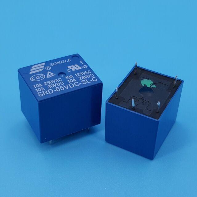 5/x 24/V Mini Power songle Relais SPDT 5/Pins
