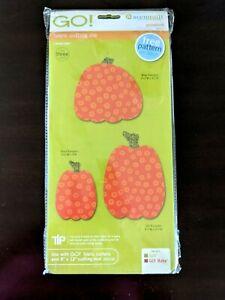 Accuquilt Die GO! Pumpkins Die 55323 Fabric Cutting Die New Sealed Pkg