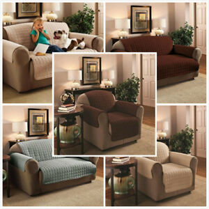 Image Is Loading Washable Reversible Sofa Slip Covers  Furniture Pet Protector