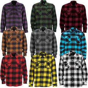 Dickies Sacramento Shirt Herren-Hemd Flanellhemd Herrenhemd Flanell NEU
