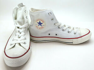 CONVERSE Women/'s sz 5.5 Chuck Taylor ALL STAR High Top White Shoes M7650 DEFECT