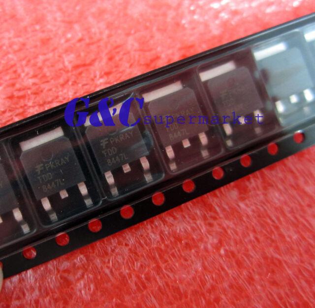 10PCS FDD8447L MOSFET N-CH 40V 15.2A DPAK TO252 NEW GOOD QUALITY R3
